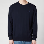 Polo Ralph Lauren Men's Slim Fit Cotton Sweatshirt - Hunter Navy