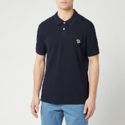 PS Paul Smith Men's Zebra Polo Shirt - Blue