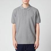 PS Paul Smith Men's Zebra Logo Regular Fit Polo Shirt - Grey Melange