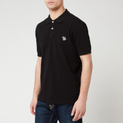 PS Paul Smith Men's Regular Fit Polo Shirt - Black