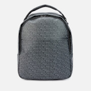 Armani Exchange Men's All Over Print Backpack - Black
