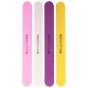 brushworks Coloured Emery Boards (Set of 4)
