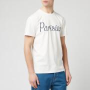 Maison Kitsune Men's Parisien T-Shirt - Latte