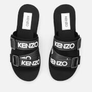 KENZO Men's Papaya Sport Slide Sandals - Black