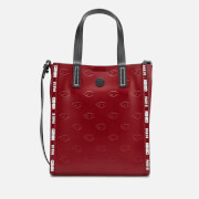 KENZO Women's Eye Allover Embossed Mini Tote Bag - Red