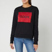 HUGO Women's Nicci Box Logo Sweat - Black
