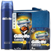 Gillette Fusion5 Proglide Power Shaving Kit with Wash Bag