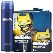 Gillette Fusion5 Proshield Shaving Kit with Wash Bag