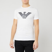 Emporio Armani Men's Large Eagle T-Shirt - White