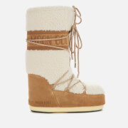 Moon Boot Women's Wool Boots - Sand/Off White