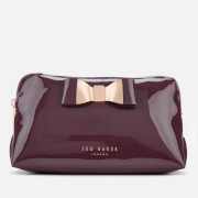 Ted Baker Women's Vivekah Bow Detail Makeup Bag - Deep Purple