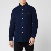 Polo Ralph Lauren Men's Custom Fit Cord Shirt - Navy