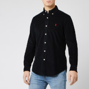 Polo Ralph Lauren Men's Custom Fit Cord Shirt - Black
