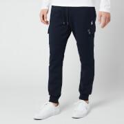 Polo Ralph Lauren Men's Double Knit Cargo Jogger Trousers - Aviator Navy