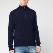 Polo Ralph Lauren Men's Half Zip Sweatshirt - Hunter Navy