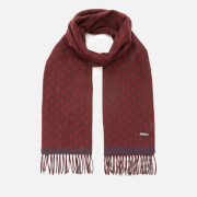 Ted Baker Men's Earlham Spotted Scarf - Dk Red