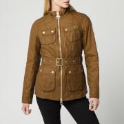 Barbour International Women's Guard Wax Jacket - Sand