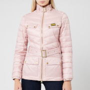Barbour International Women's Gleann Quilted Jacket - Blusher