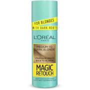L'Oréal Paris Magic Retouch Temporary Root Concealer Spray - Medium Blonde Dark Roots 7.3 75ml