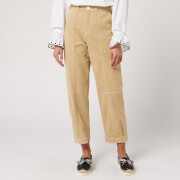 See By Chloé Women's Carpenter Trousers - Warm Ivory