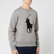 Polo Ralph Lauren Men's Large Logo Sweatshirt - Battalion Grey Heather