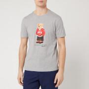 Polo Ralph Lauren Men's Bear Logo T-Shirt - Andover Heather