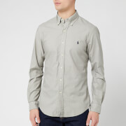 Polo Ralph Lauren Men's Long Sleeve Oxford Shirt - Grey Fog