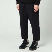 Y-3 Men's Classic French Terry Cropped Pants - Black