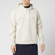 Y-3 Men's Distressed Signature Hoody - Ecru