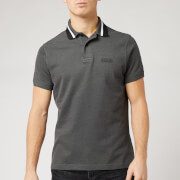 Barbour International Men's Diode Polo Shirt - Gargoyle
