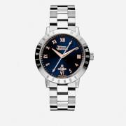 Vivienne Westwood Women's Bloomsbury Blue Watch - Silver