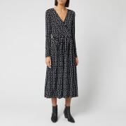 Stine Goya Women's Alina Light Jersey Dress - Oval Dot