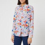 PS Paul Smith Women's Floral Print Shirt - Multi