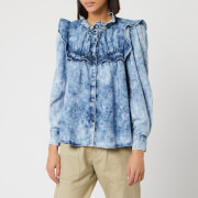 Isabel Marant Étoile Women's Idety Shirt - Blue