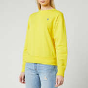 Polo Ralph Lauren Women's Long Sleeve Classic Sweatshirt - Lemon Crush