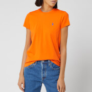 Polo Ralph Lauren Women's 30/1 Cotton T-Shirt - Fiesta Orange