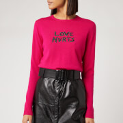 Bella Freud Women's Love Hurts Jumper - Fuchsia