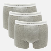 PS Paul Smith Men's 3 Pack Trunk Boxer Shorts - Grey