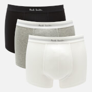 PS by Paul Smith Men's 3 Pack Boxer Briefs - Black/Grey/White