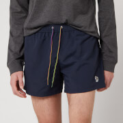 PS Paul Smith Men's Zebra Swim Shorts - Navy