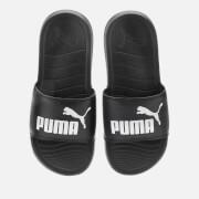 Puma Men's Popcat 20 Slide Sandals - Puma Black/Puma White