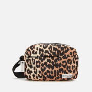 Ganni Women's Tech Fabric Camera Bag - Leopard