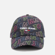 Tommy Jeans Women's Sport Print Cap - Black