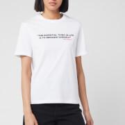 Karl Lagerfeld Women's Legend Karlism T-Shirt - White