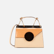 Danse Lente Women's Phoebe Shoulder Bag - Toffee/Tan Croc