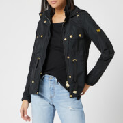 Barbour International Women's Curveball Showerproof Jacket - Black
