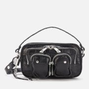 Núnoo Women's Helena Croco Cross Body Bag - Black