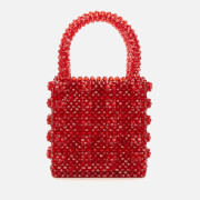 Shrimps Women's Antonia Beaded Bag - Red