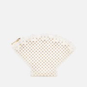 Shrimps Women's Shell Clutch - Cream