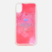 KENZO Women's iPhone X Tiger Head Sand Phone Case - Pink